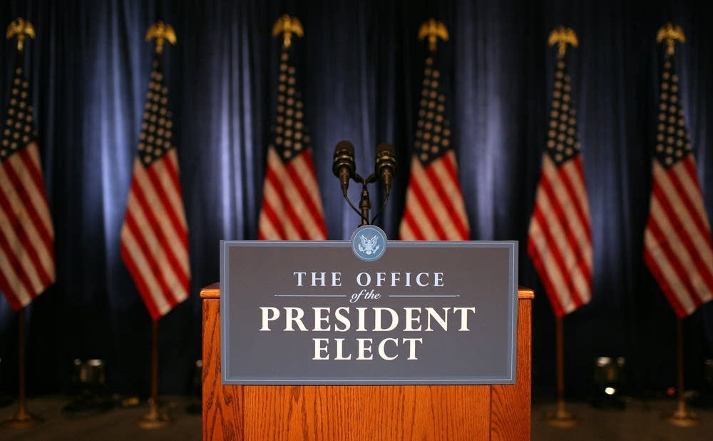 President-Elect Obama Meets With The Transition Ec