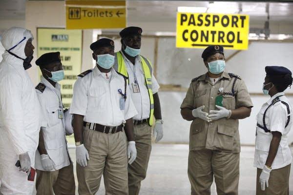 Nigeria health officials