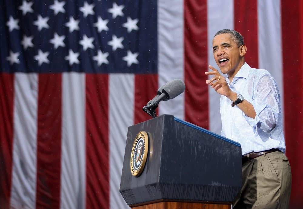 Obama Discusses Economy On Two-Day Campaign Swing