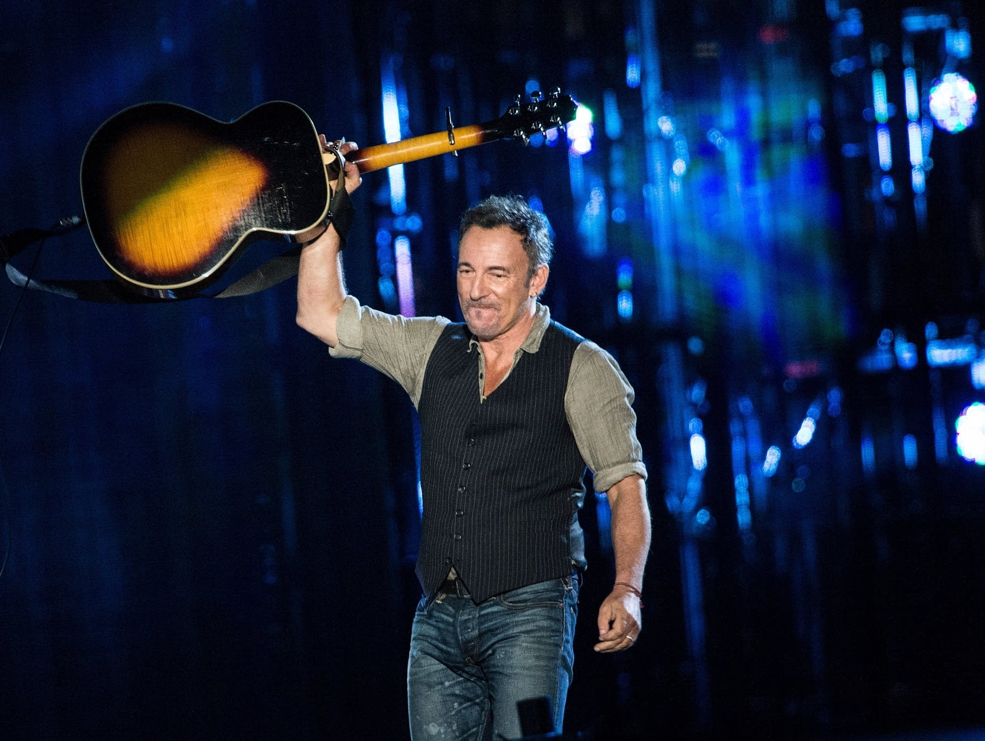 Bruce Springsteen at the Concert for Valor in Washington, D.C., 2014.