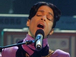 Prince at 2006 BET awards show