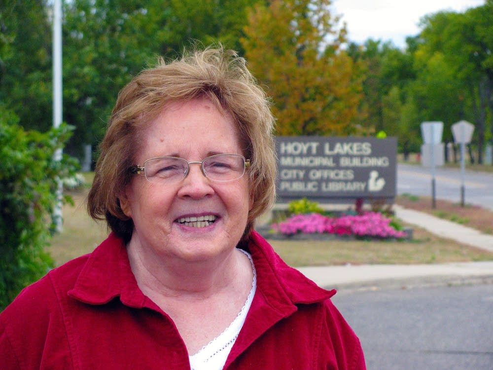 Hoyt Lakes Mayor Marlene Pospeck