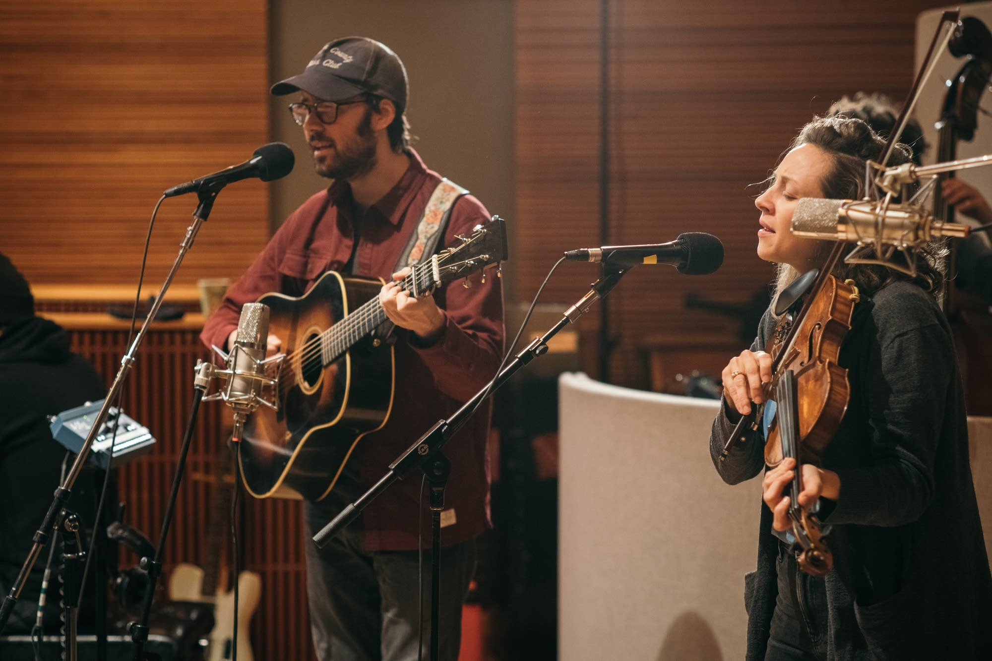 Mandolin Orange perform in the studio