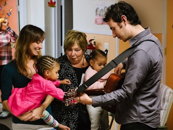 Lullaby Project session in 2016