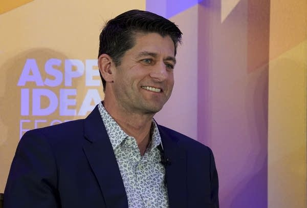 Former Speaker of the House Paul Ryan at the Aspen Ideas Festival.