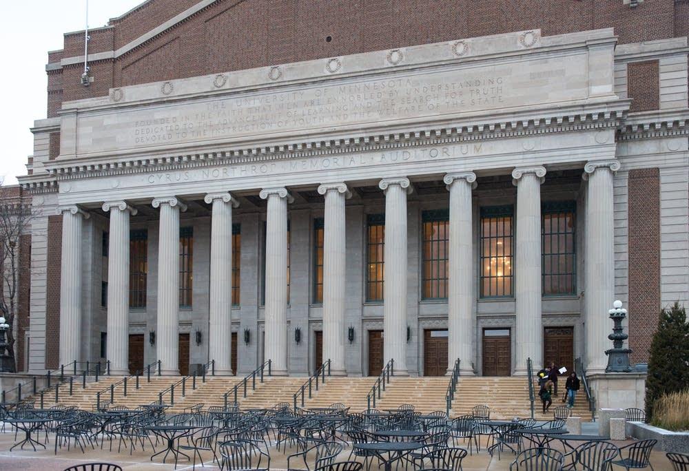Northrop Auditorium exterior