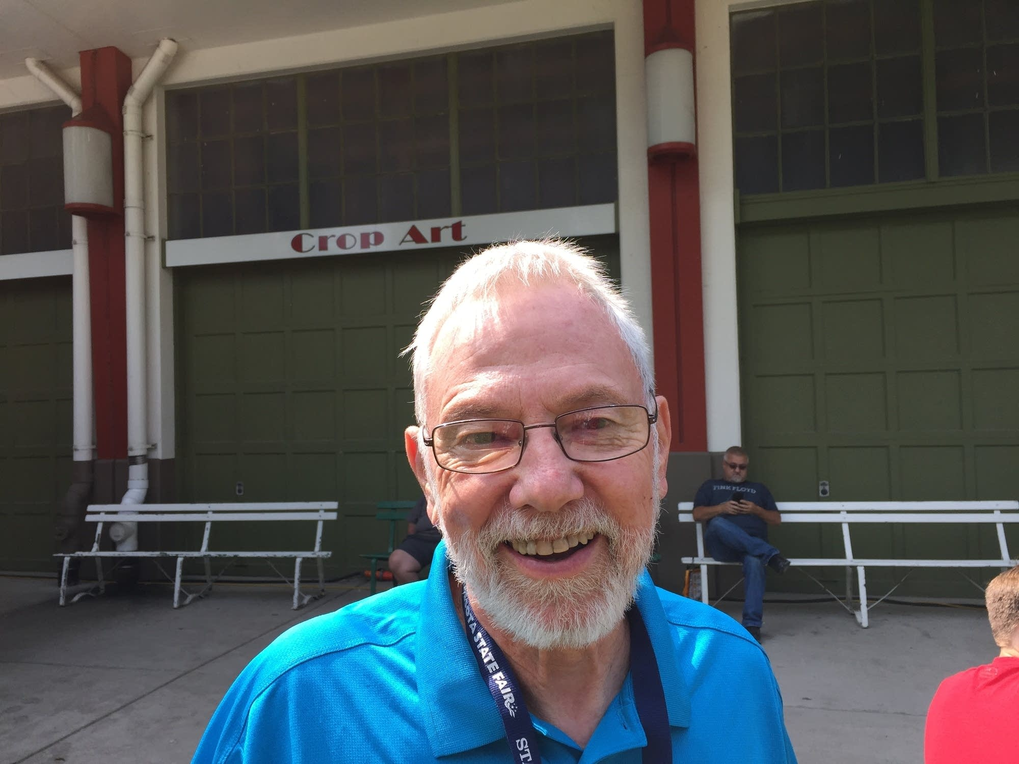 Ron Kelsey, Superintendent of Crop Art at the Minnesota State Fair
