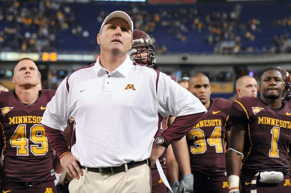 Former Gopher coach Tim Brewster
