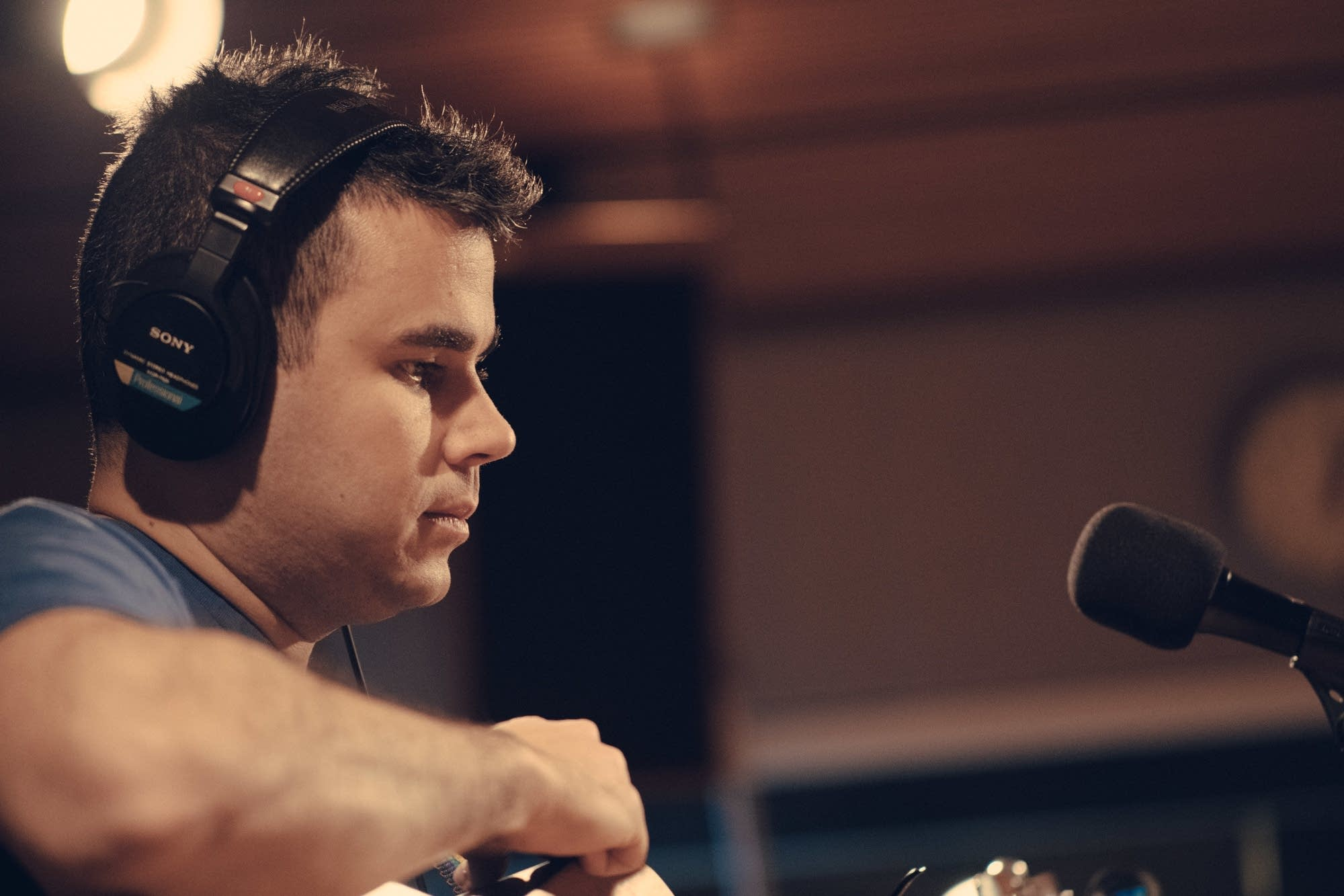 Rostam in The Current studio