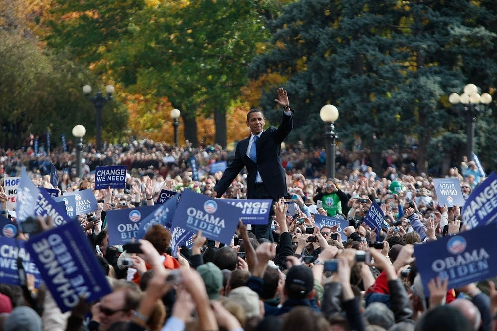 Barack Obama in Denver
