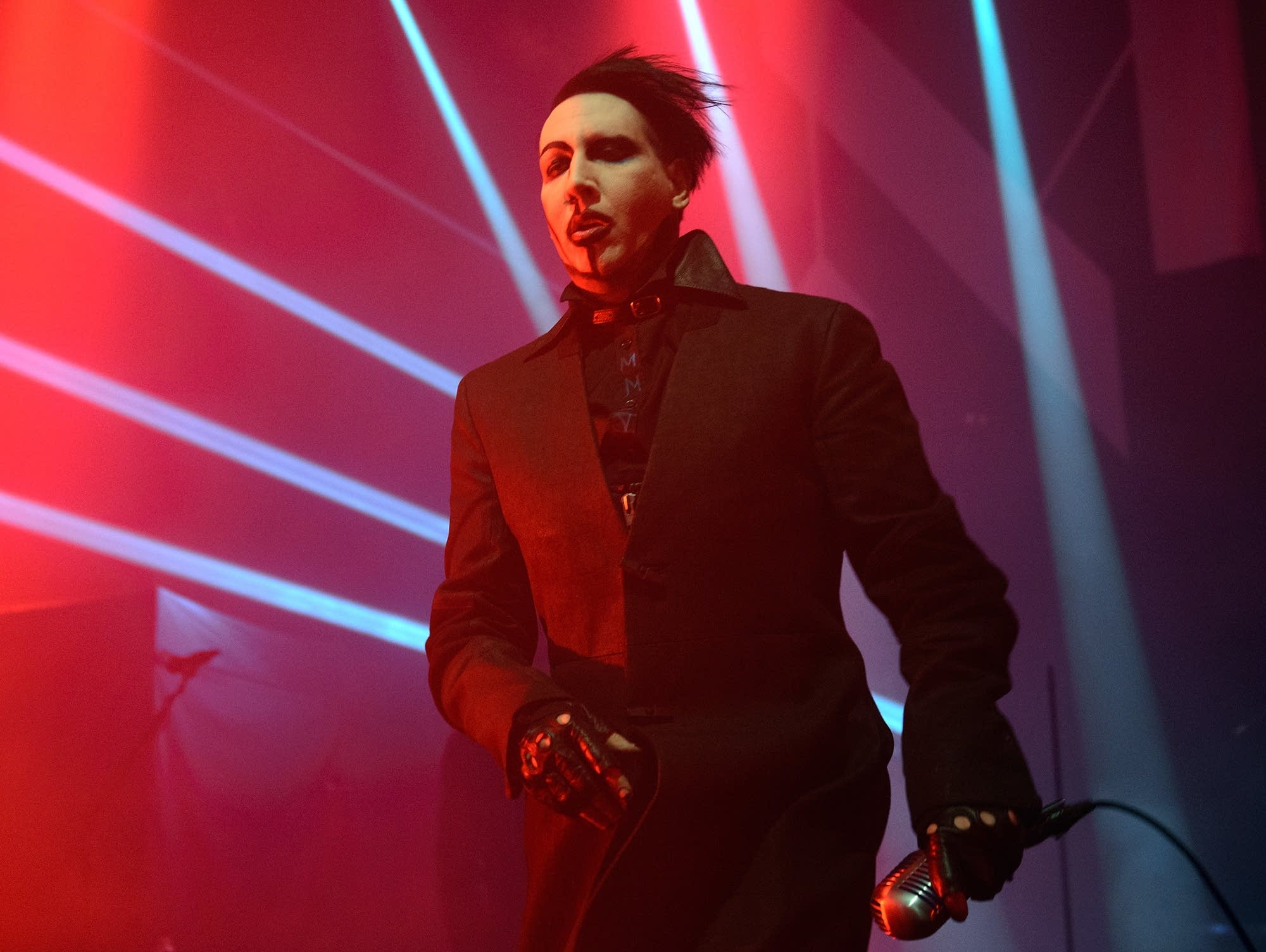Marilyn Manson performs in Chicago in 2015.