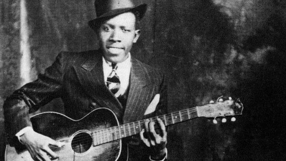 Blues musician Robert Johnson