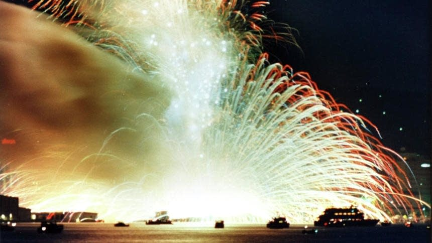 Twin Ports fireworks explosion on July 4, 1988