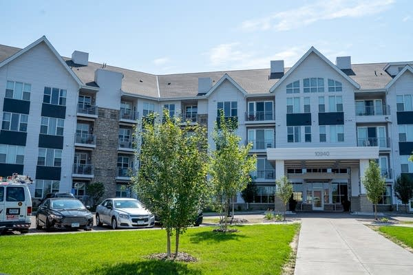 The River North Senior Apartments in Coon Rapids.