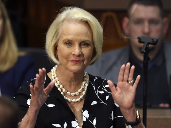 Cindy McCain, widow of former Arizona Sen. John McCain