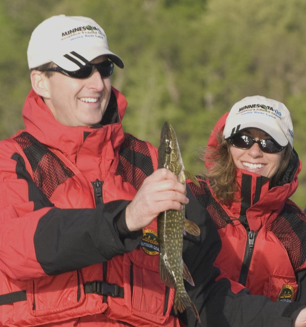Gov. Tim Pawlenty and wife Mary Pawlenty