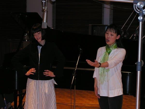Jennifer Baldwin Peden and Momoko Tanno
