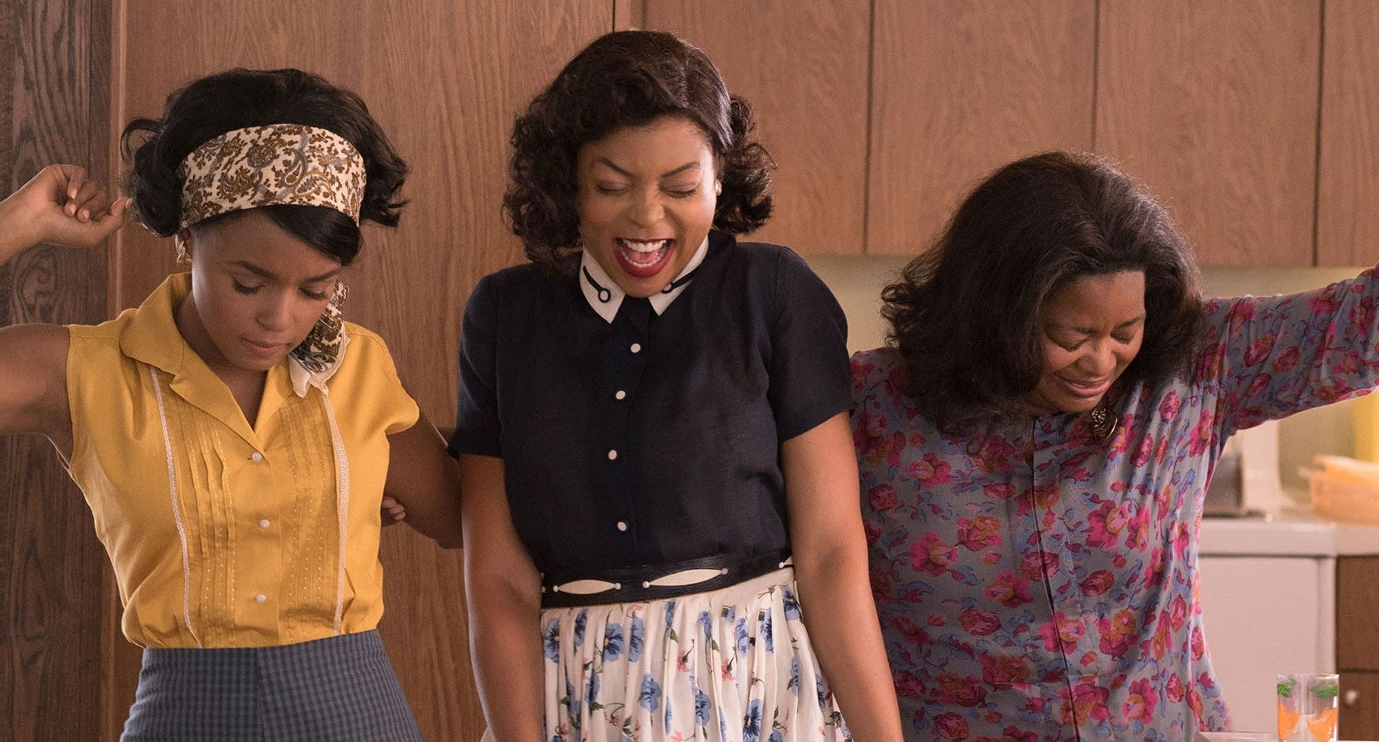 Janelle Monae, Taraji P. Henson, and Octavia Spencer in