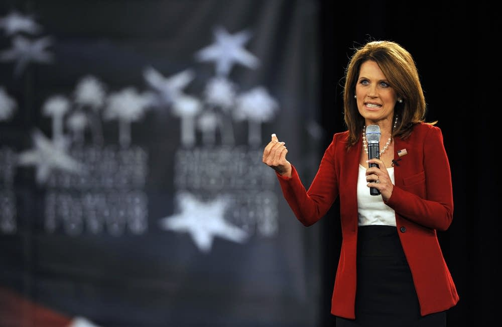 Bachmann speaks in South Carolina