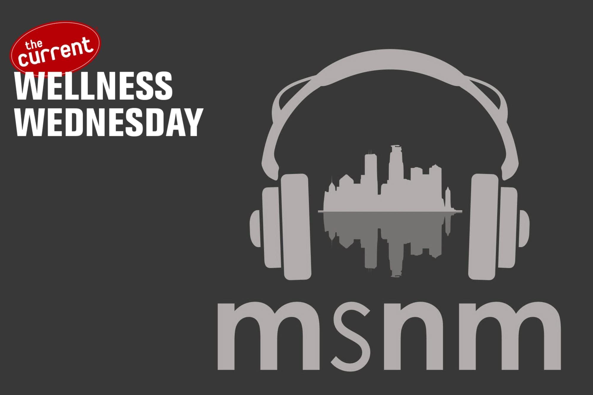 MSNM logo with headphones.