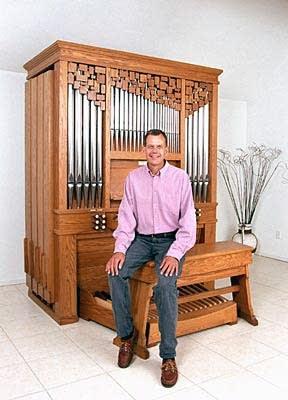 2000 Letourneau organ in the residence of James Kibbie, Ann Arbor, MI