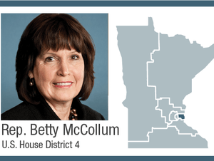 Rep. Betty McCollum, U.S. House District 4