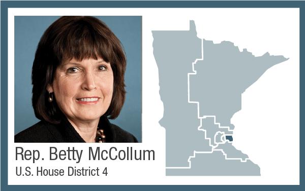Rep. Betty McCollum, U.S. House District 4