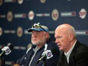 Terry Ryan and Ron Gardenhire
