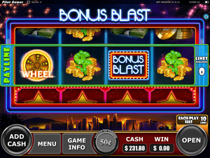 Screenshot from a iPad pulltab game