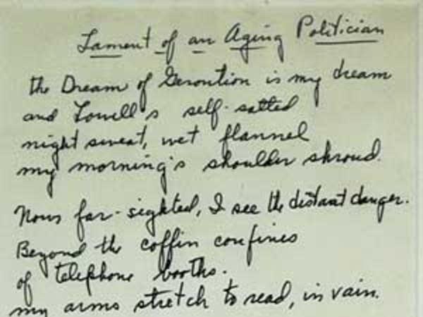 McCarthy poem