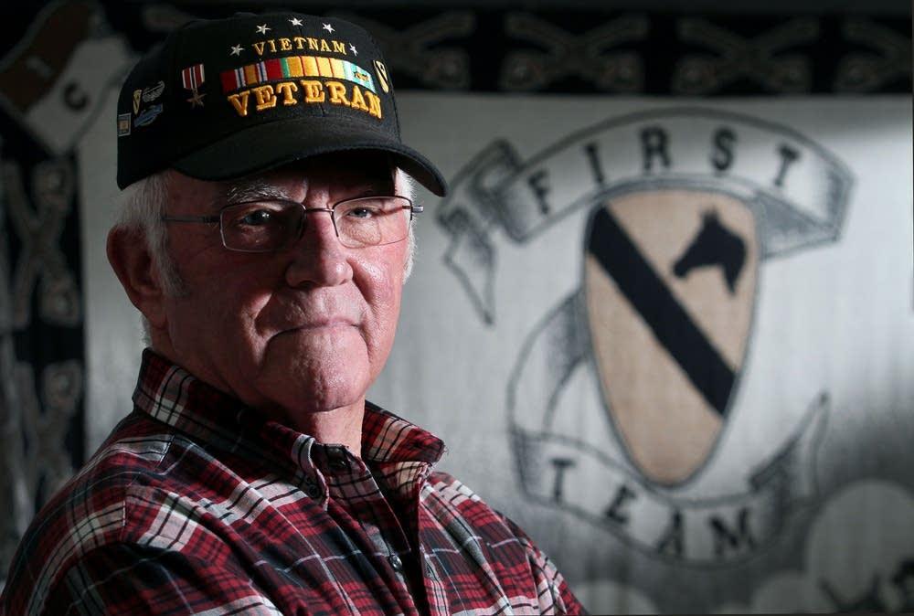 Galen Bungum, 72, was a soldier in Vietnam.