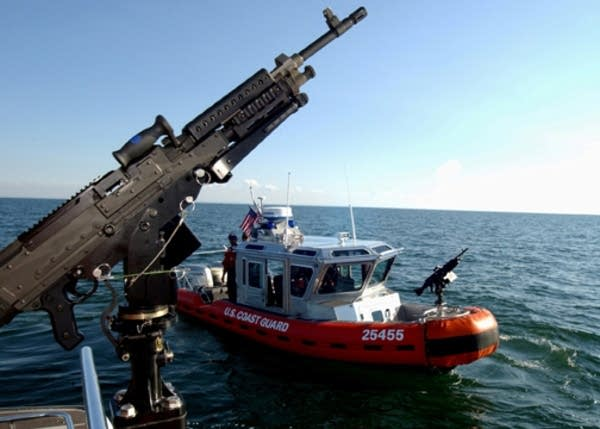 Coast Guard training exercise