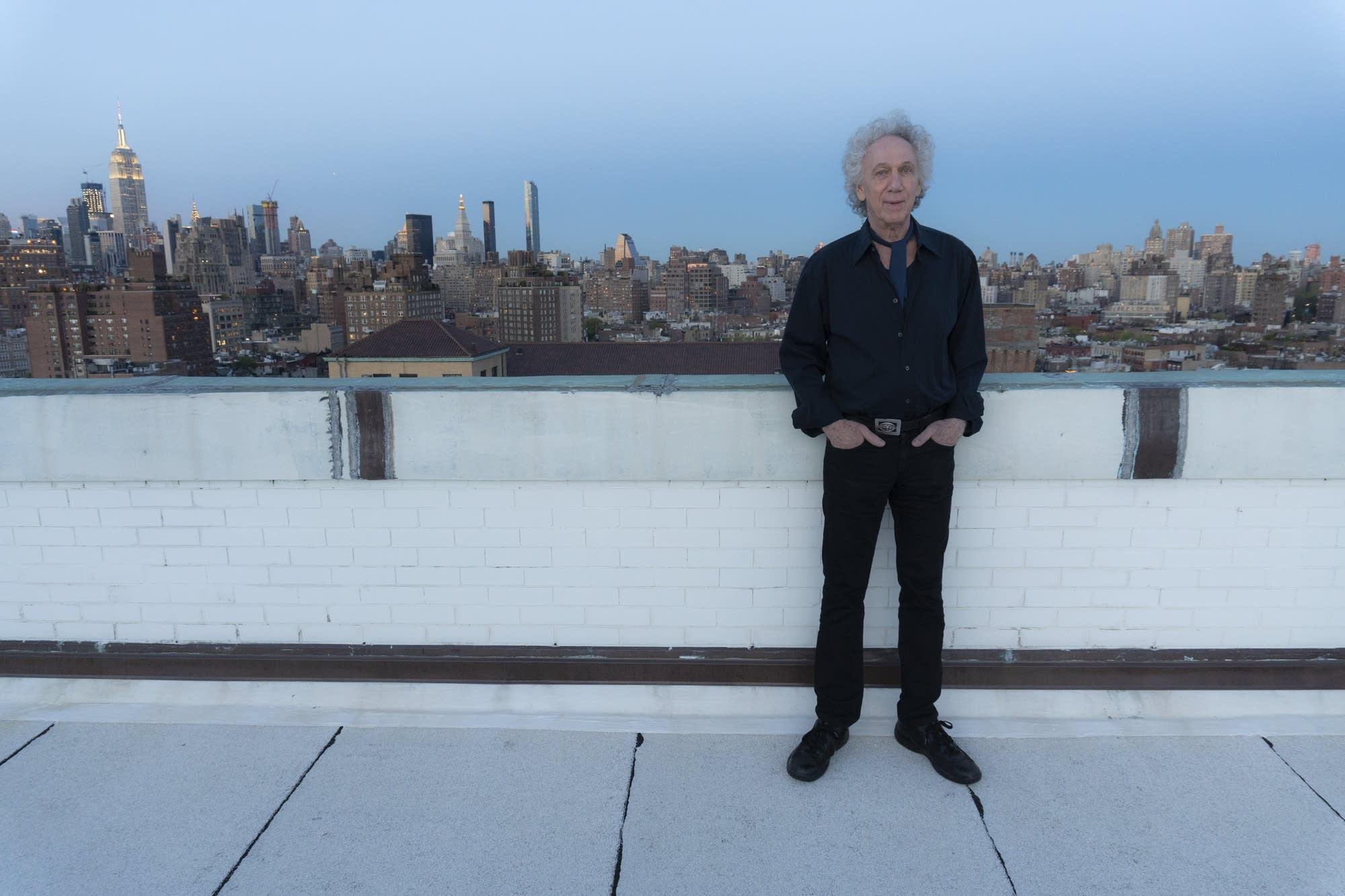 Photographer Bob Gruen in New York
