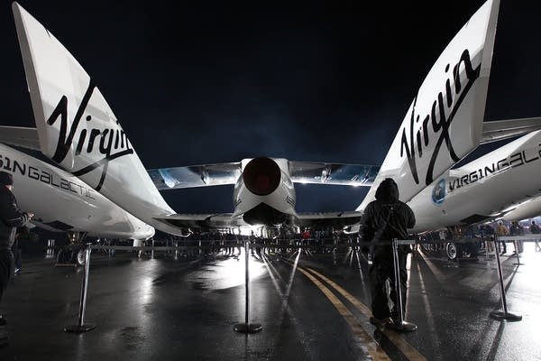 Virgin Galactic's SpaceShipTwo, First Commercial S