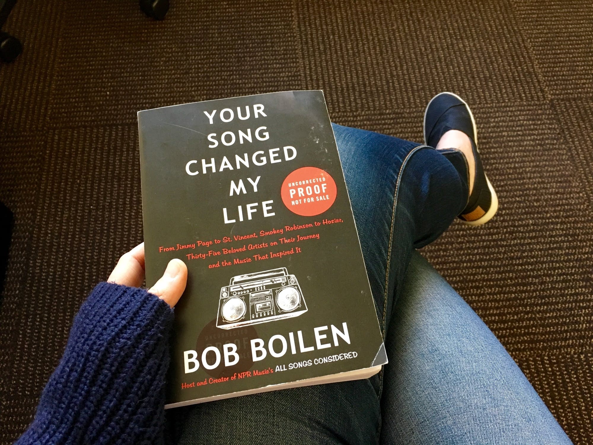 Bob Boilen the current's rock and roll book club: bob boilen's 'your song