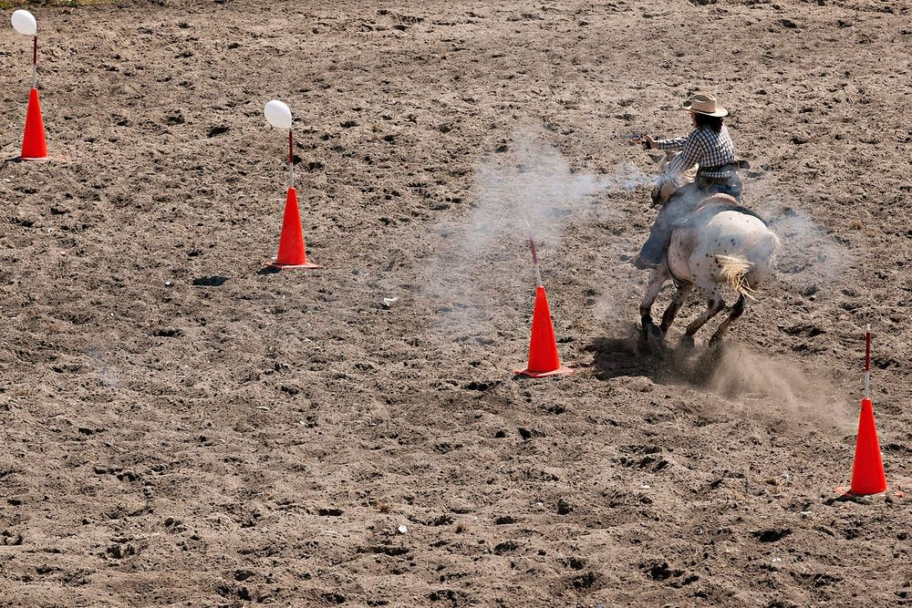 Like barrel racing