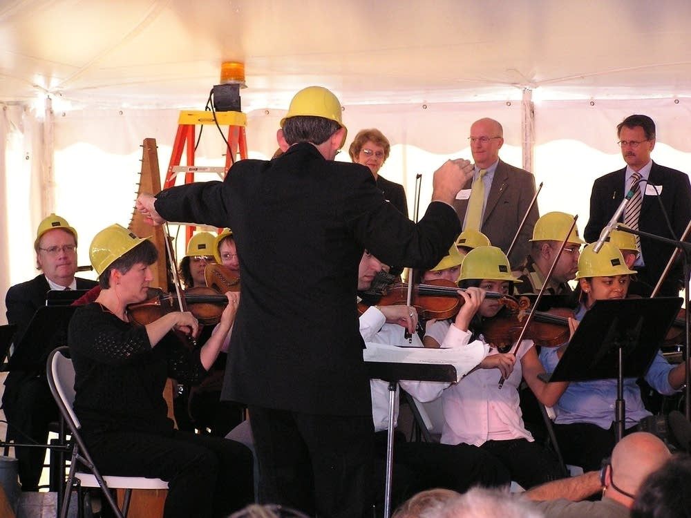 Conducting the construction concerto