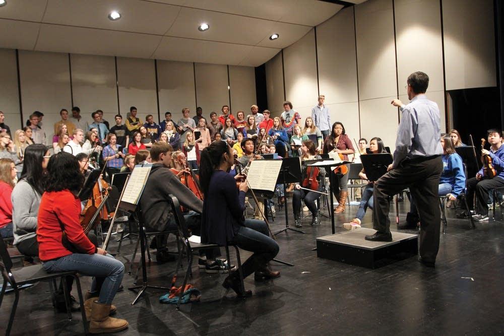 Wayzata High School Concert Choir and Orchestra