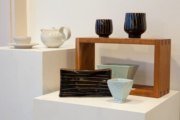 Janel Jacobson and Will Swanson's pottery