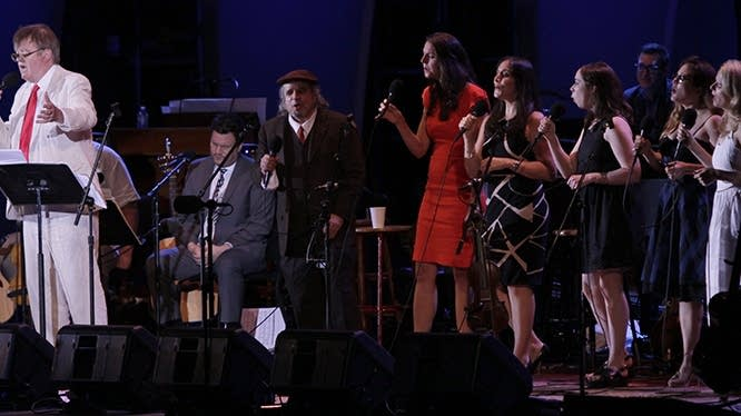 Garrison Keillor and singers - July 2, 2016