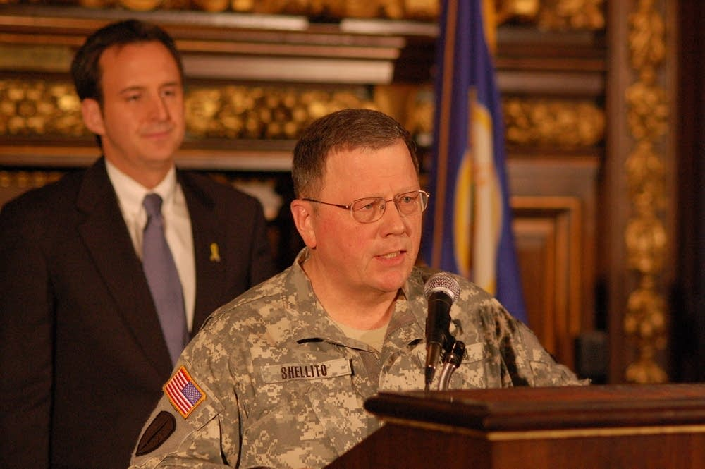 Minnesota National Guard Maj. Gen. Larry Shellito
