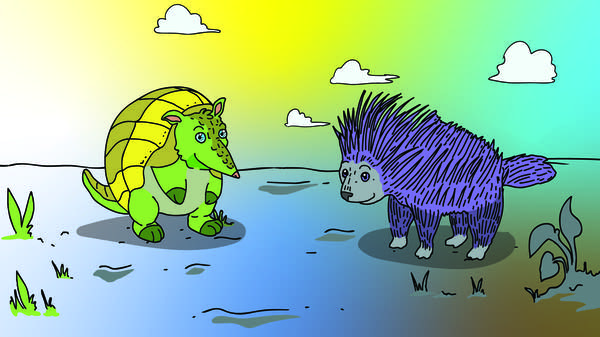 Porcupines vs Armadillos