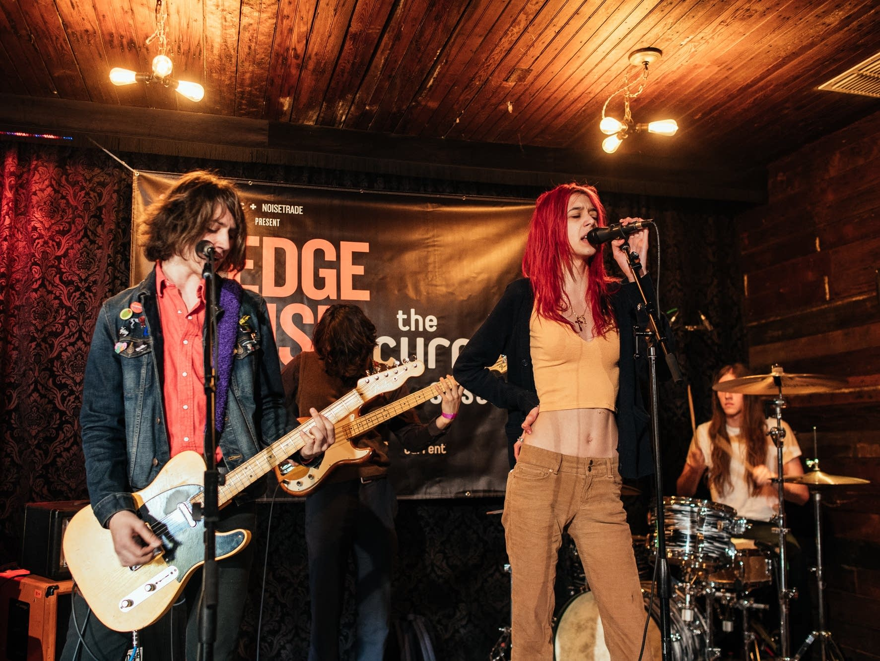 Starcrawler play the PledgeHouse during SXSW