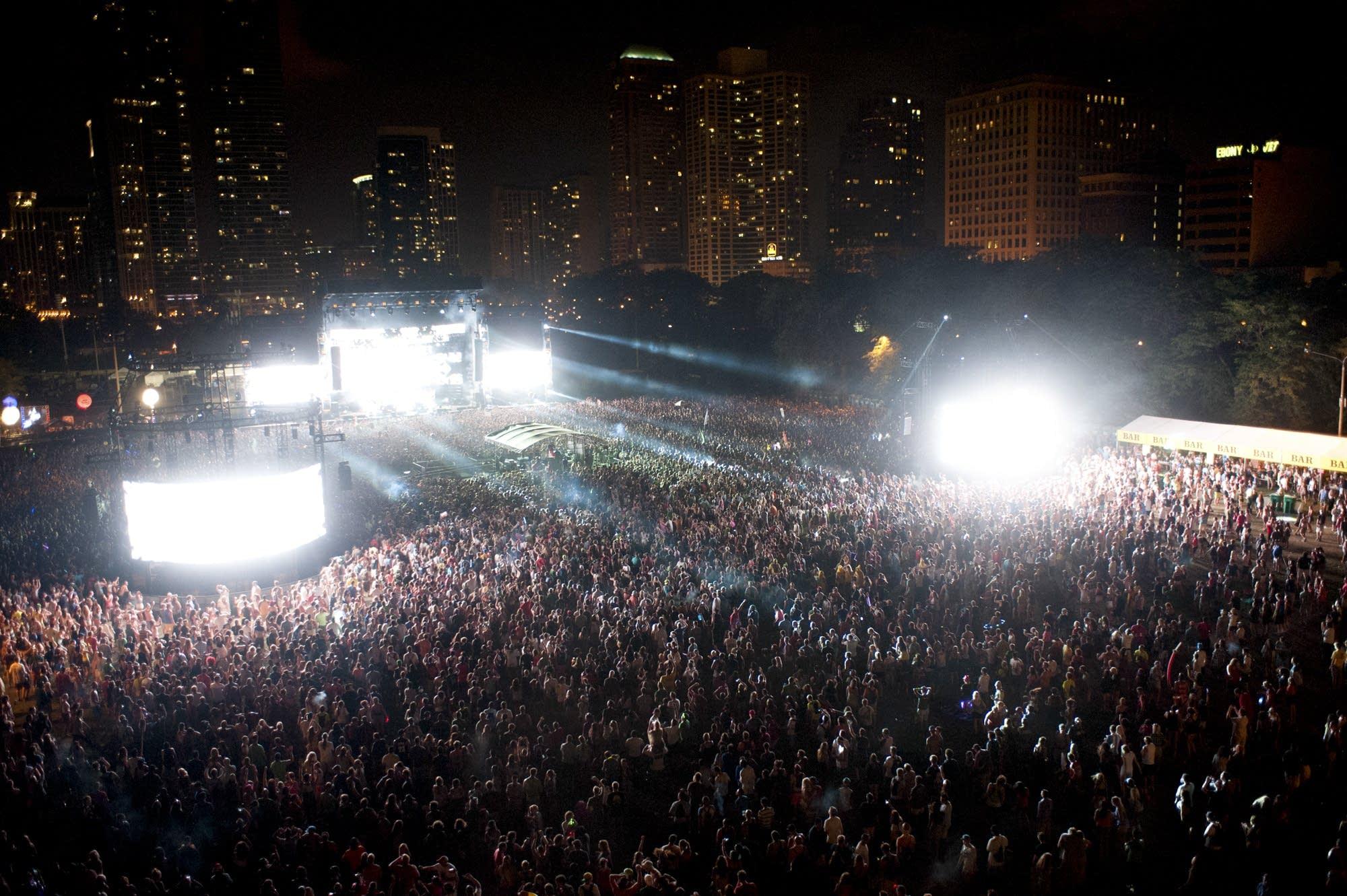 Lollapalooza August 2, 2013