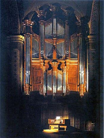The Organ at Saint Vincent, Roquevaire, France