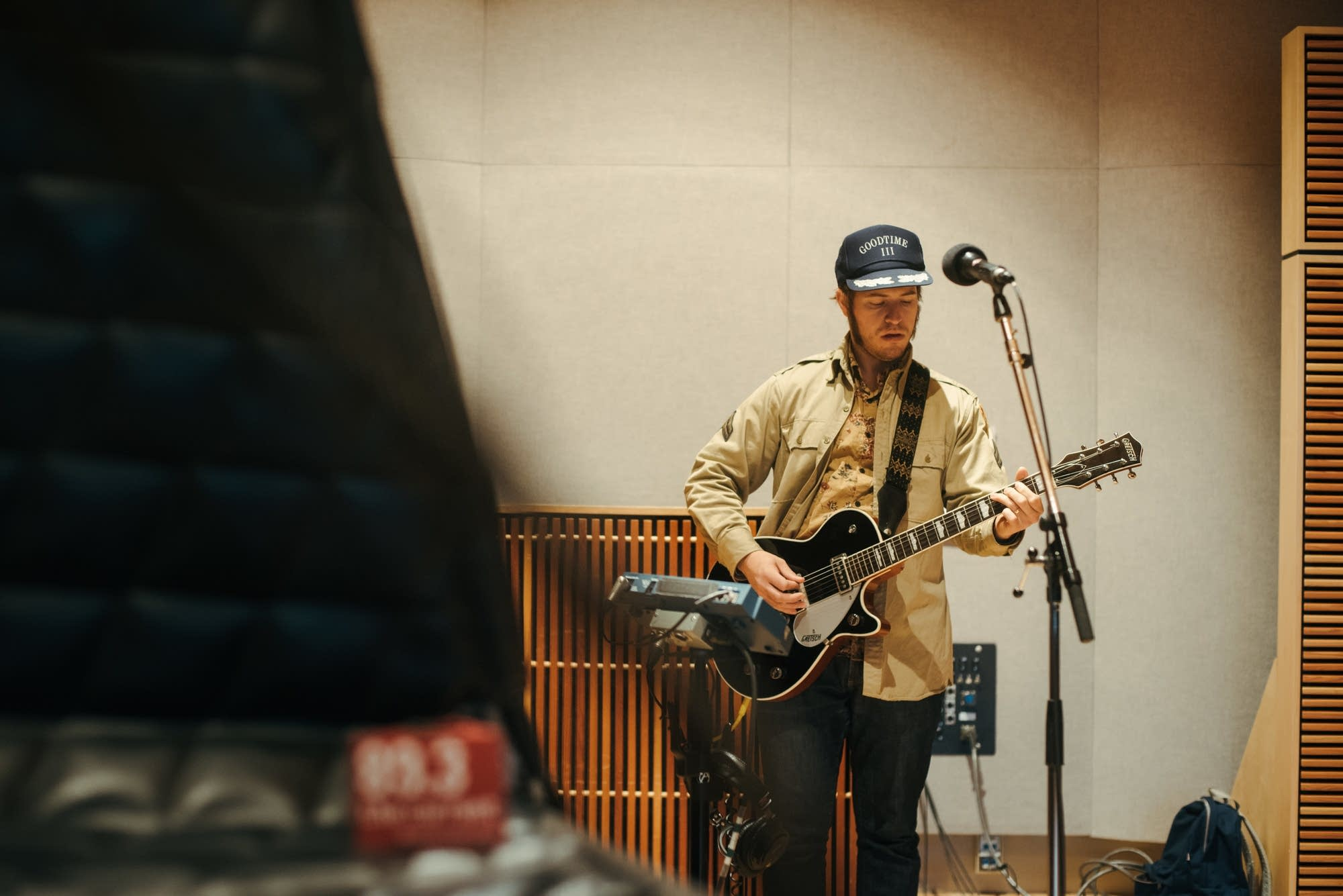 James Everhart of Low Cut Connie performs in The Current studio.