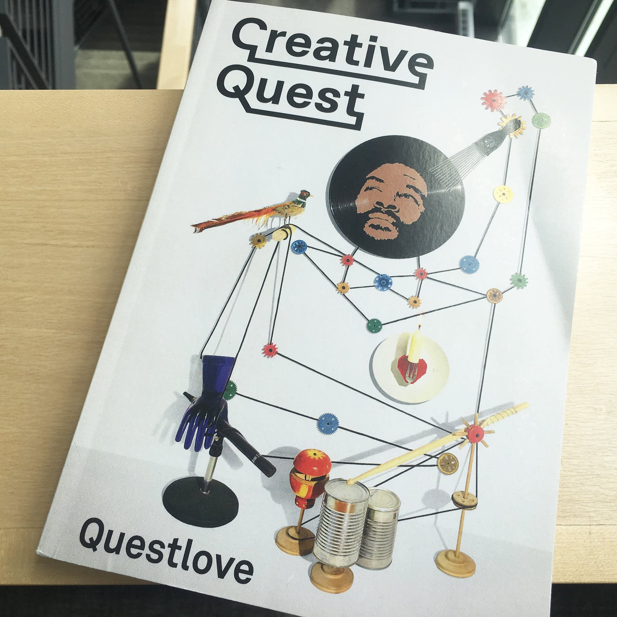 Questlove's book 'Creative Quest.'