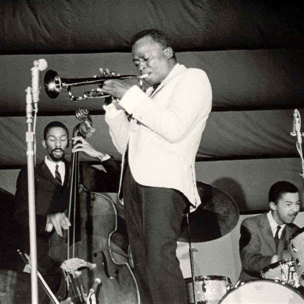 Miles Davis with Ron Carter and Tony Williams