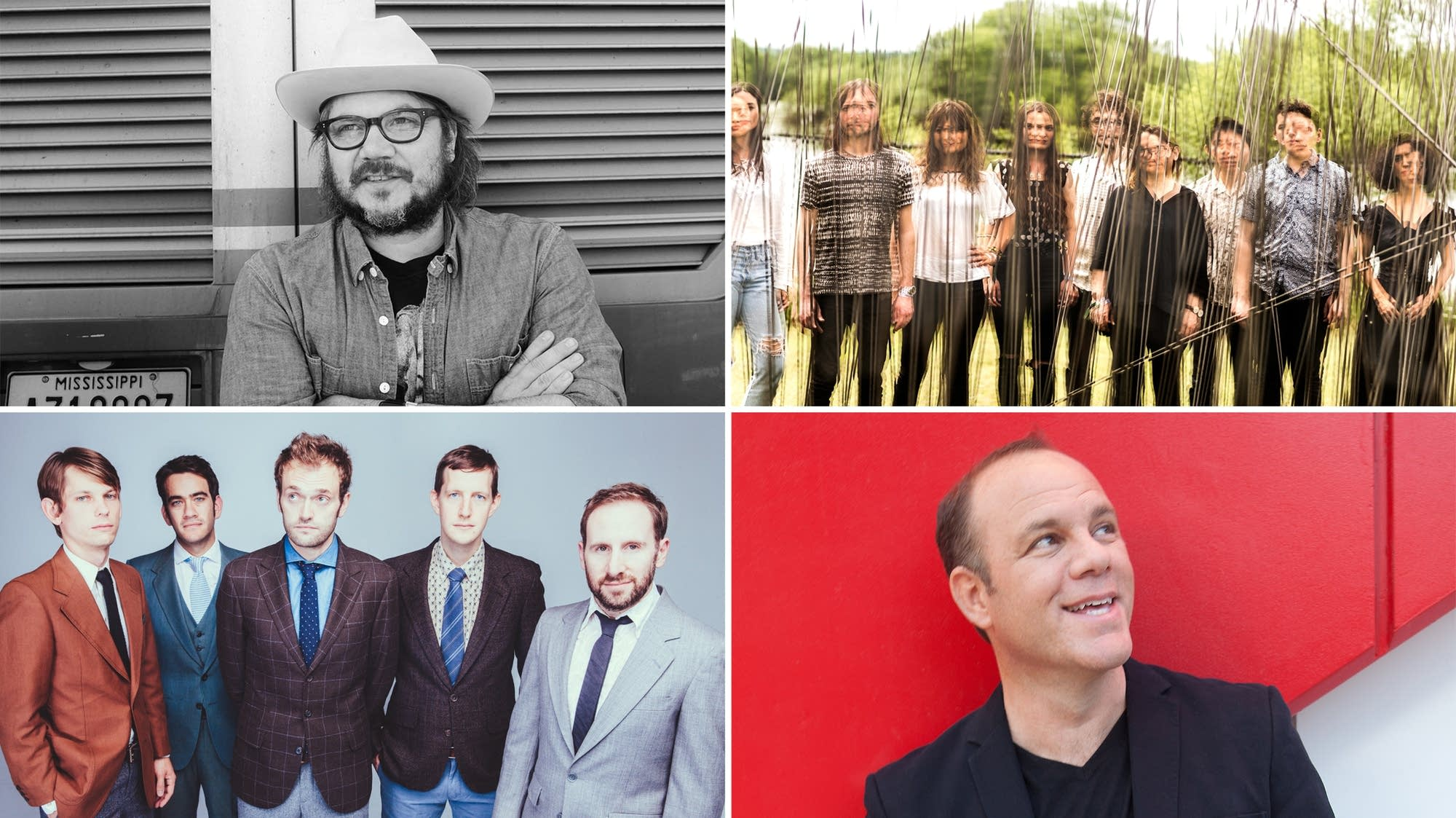Jeff Tweedy, The Staves and yMusic, Punch Brothers, Tom Papa