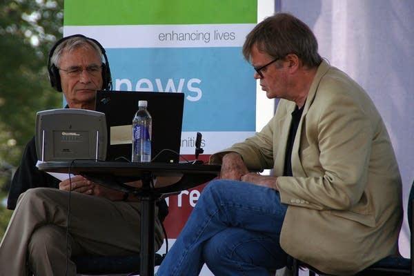 Midday's Gary Eichten and Garrison Keillor